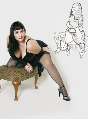 Abby  - Pin up Artwork Studio 519 by Abby