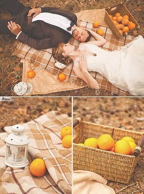 Wedding with oranges  by Ariena