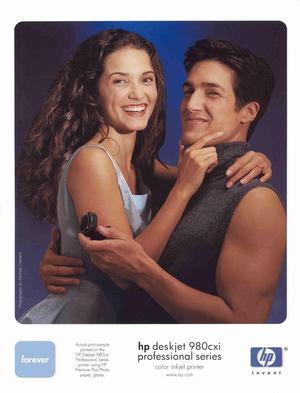 - Ad for Hewlett Packard ()