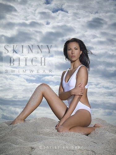 SkinnyBitchSwimwear ™ on Raquel Christian Behr by Christian Behr