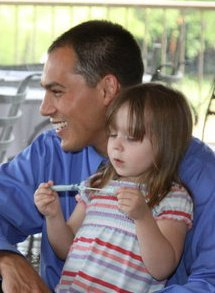 My daughter and I  by David Summerly