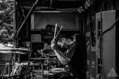 Ashes In Vein Drummer  by Glass Arrow