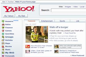 Yahoo! May 19, '07 staceylee.com by Stacey Lee