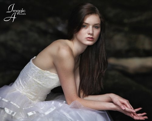 Portrait of Erica - Model: Erica Fletcher (David A. Silverstein)