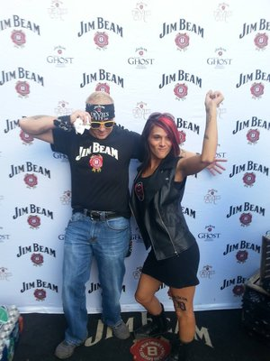 Jim Beam at Kid Rock
