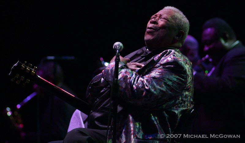 BB King 4 Michael McGowan by Michael McGowan