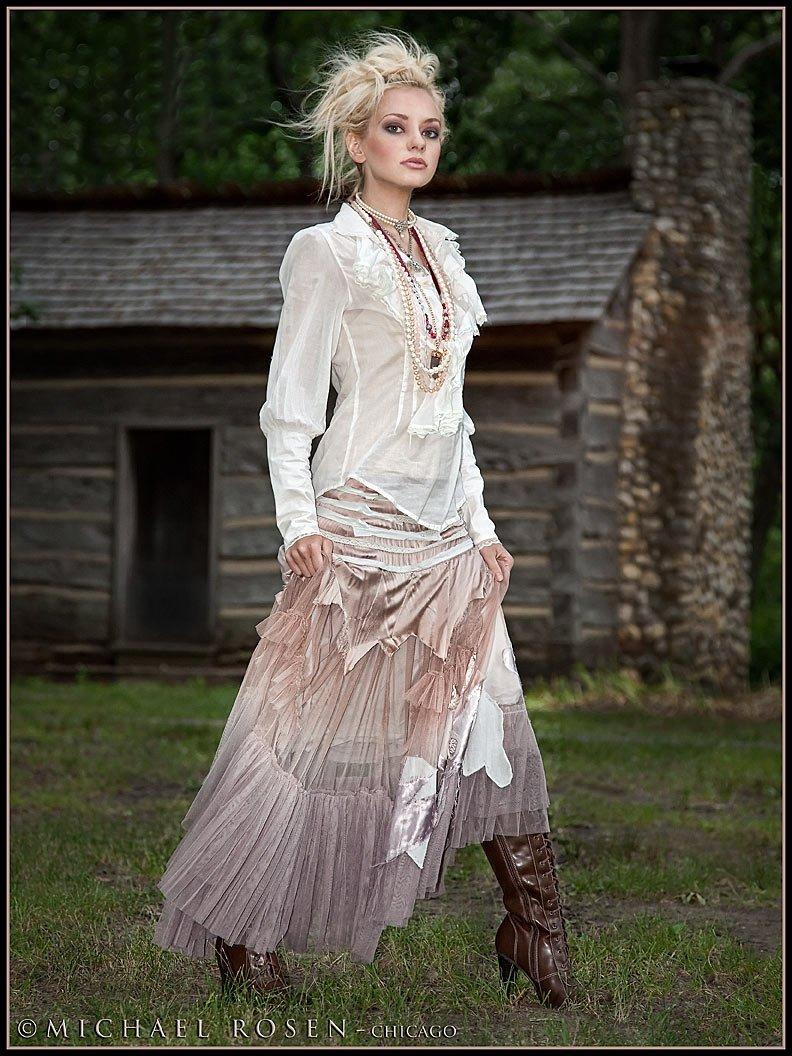 Jennifer Cabin 2 - Model - Jennifer Lynn - Chicago Styling by model (Michael Rosen - chicago)