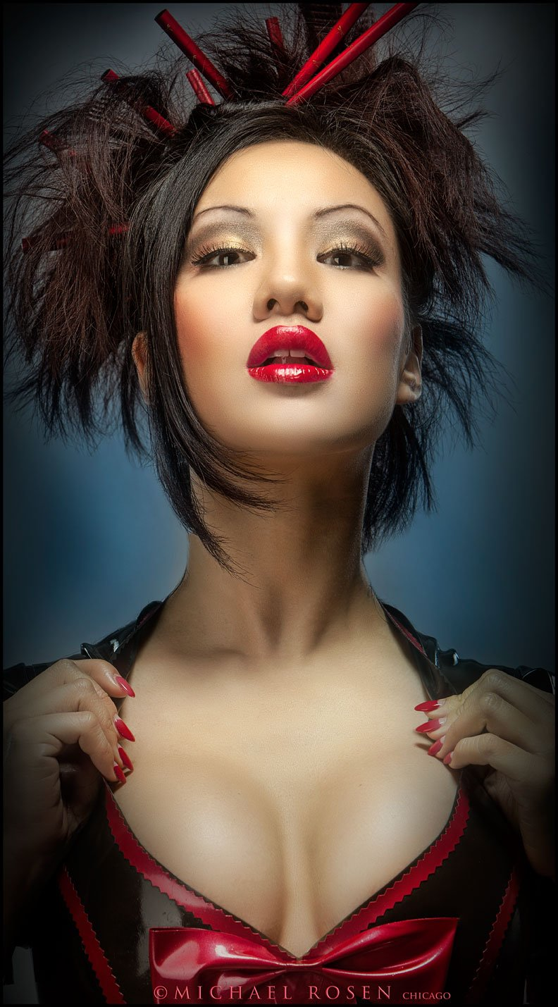 Jade Vixen - Photographed at the Michael Rosen Model Shoot Event - May 19, 2013 (Michael Rosen - Chicago)