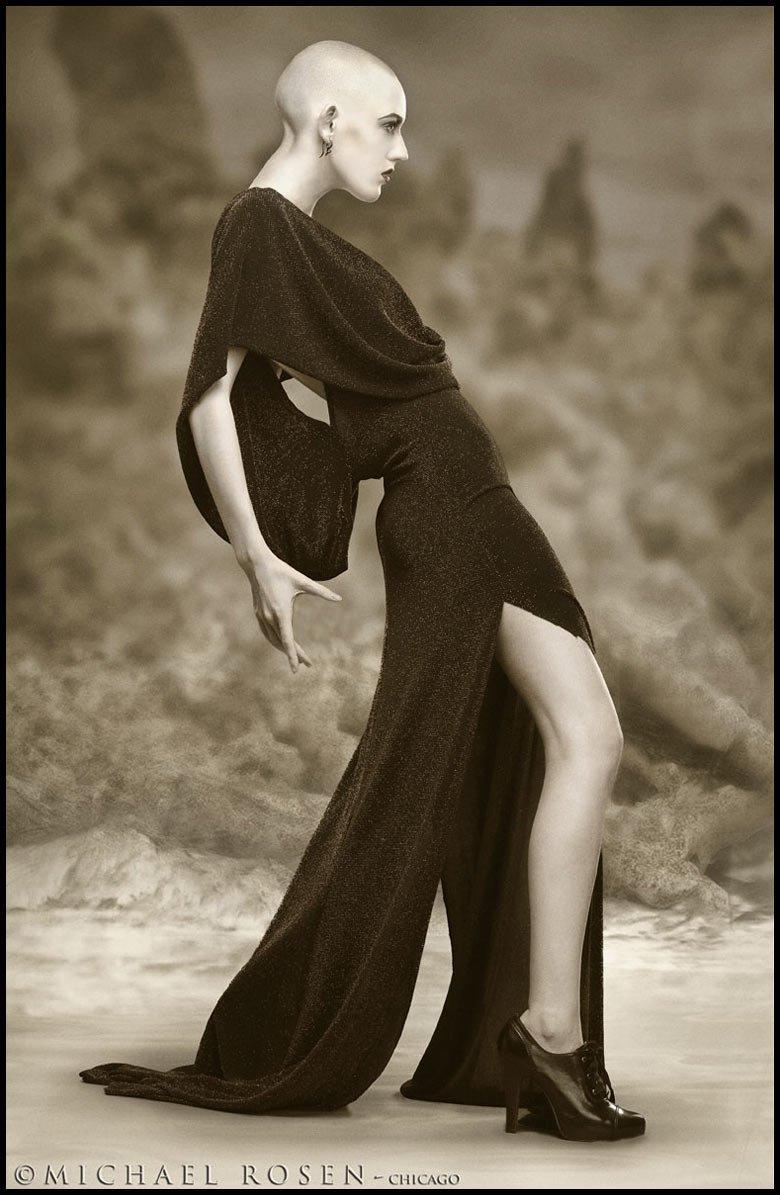V - Model V Styling by Kimberly Steward Fashion by Narcisse Design - Chicago (Michael Rosen - Chicago)