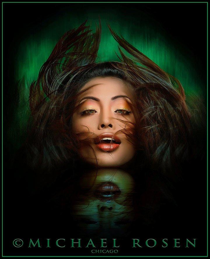 RIYA - Model-Riya Ray - India Makeup by Landis - Chicago (Michael Rosen-chicago)
