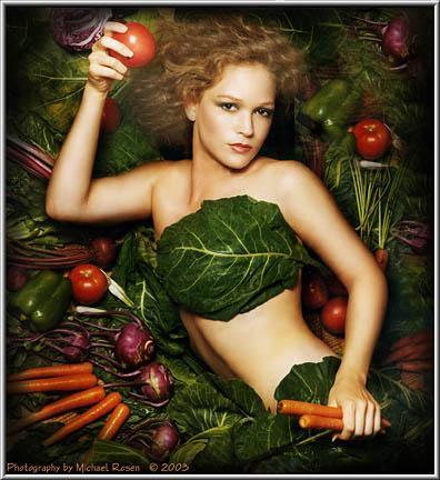 Veggie Lady 2 -  (Michael Rosen)