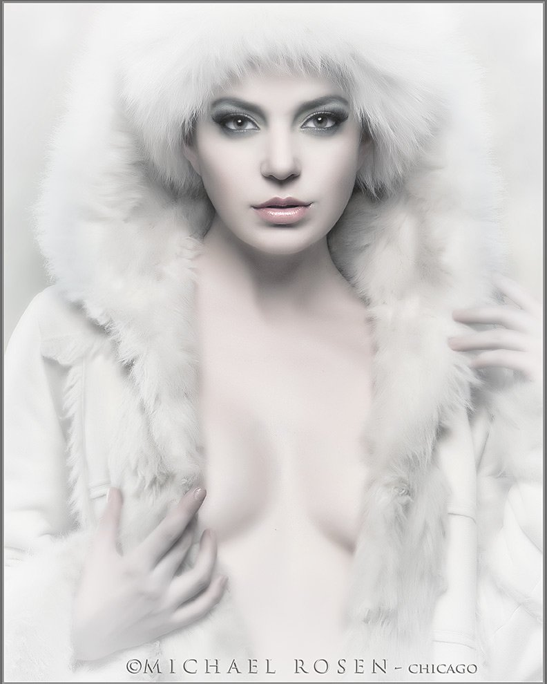 Winter in Chicago - Model-Valerie - NY Styling by Kerre (Michael Rosen - Chicago)