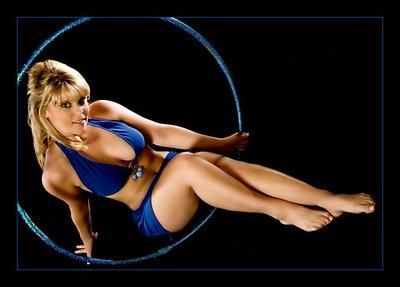 Blue Bikini Star Image Photography 2007 by Randi Lange