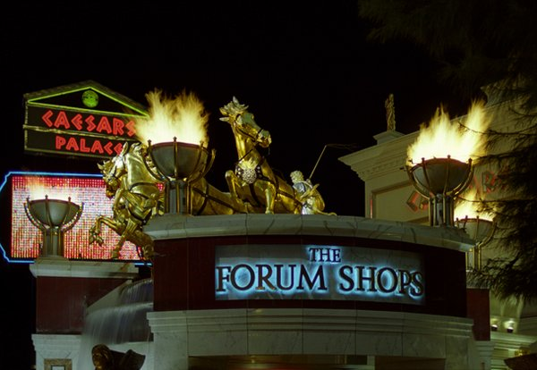 The Forum Shops  by Chris Fennessey