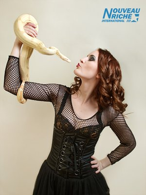 Snake Girl © 2010, Nouveau Richè International Model and Talent Management by Ned Yeung