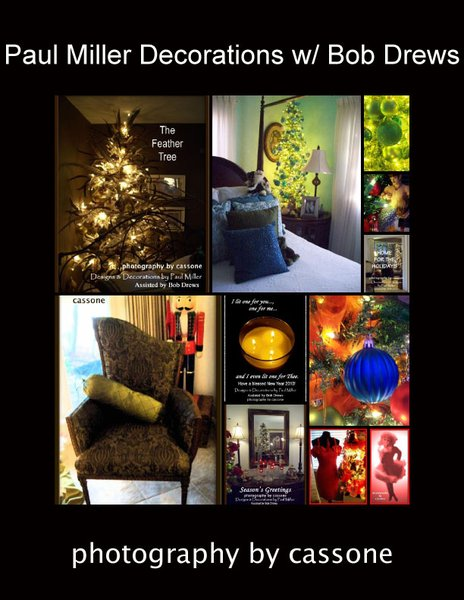 Miller and Drews Holiday Feature - Decorations and Designs by Paul Miller, AIFD & Bob Drews (photo by Antonio Cassone)