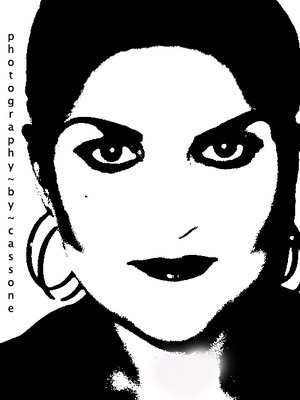 Anya Allen - Original Makeup Design by Diva Kingsley (photo by Antonio Cassone)