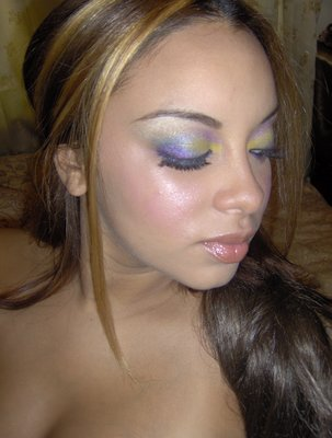 Closeup of  Peacock Eyes Stylista Enterprises by Stylista Enterprises
