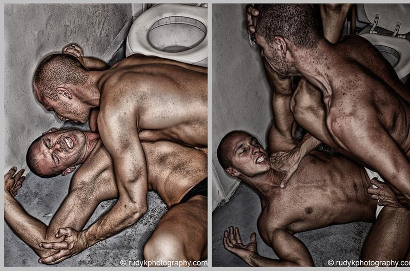 Toilet Fight RudyKPhotography by Tony Gibble