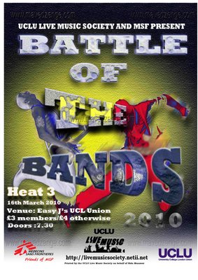 Poster for Battle of the Bands