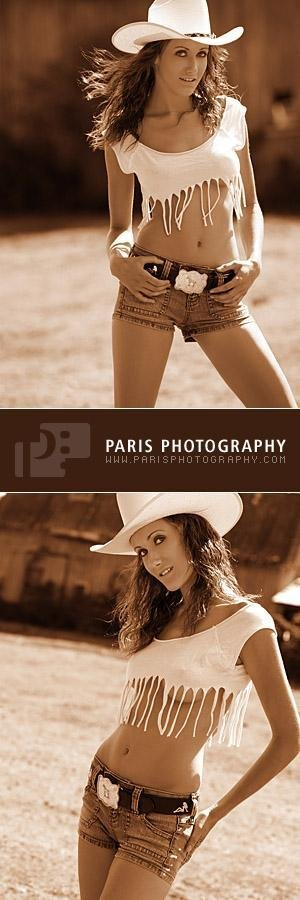 Cowgirl Paris Photography by Carie Marie