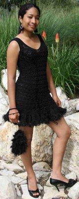 Little Black Evening Dress