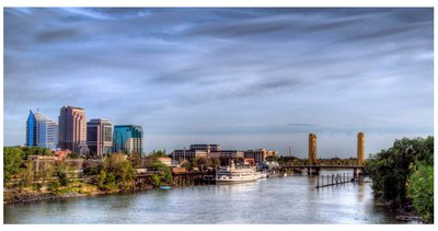 Sac River Front  by Harold Session