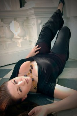floor pose  by Tamara Manchester