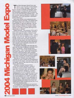 TEEZE Mag artcle - The magazine article about the expo ()
