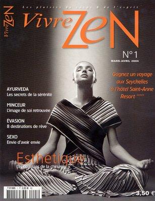 VIVRE ZEN cover -  (Leon Saperstein)