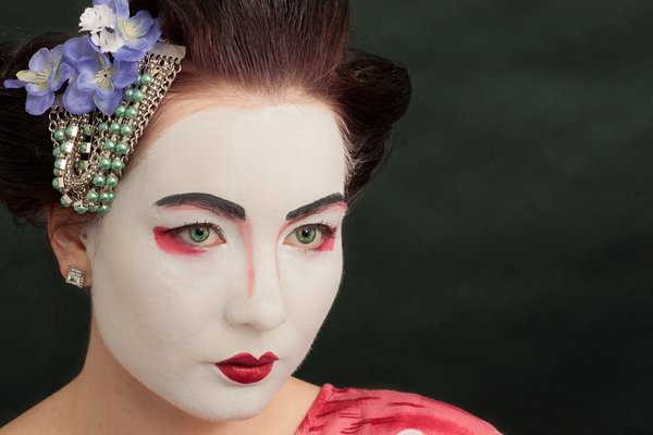 Geisha all rights reserved by Marc Neal