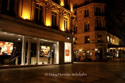 an evening in Paris; Champs Elysées, Paris Mary Durante Wehrhahn by Mary Durante Youtt