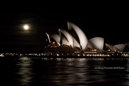 blue moon over Sydney Mary Durante Wehrhahn by Mary Durante Youtt