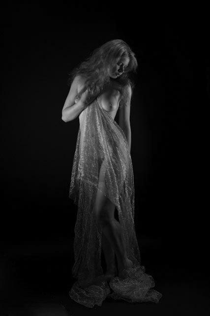 Celtic maiden - Lighting- Jene Youtt studio Model:  The Red Celt (Mary Durante Wehrhahn)