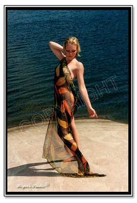 Beauty at The Lake Copyright 2009 by Roger Poirier