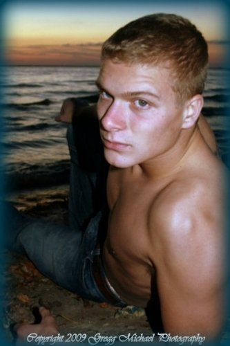 Model :Brandon Schott 2009 Gregg Michael Photography by Gregg