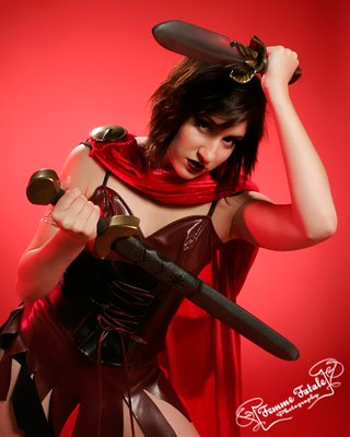 Spartan Swords Femme Fatale Photography by Sarah Malia