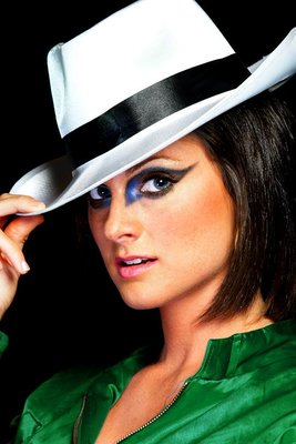 Hat and Crazy make-up  by Shannon C