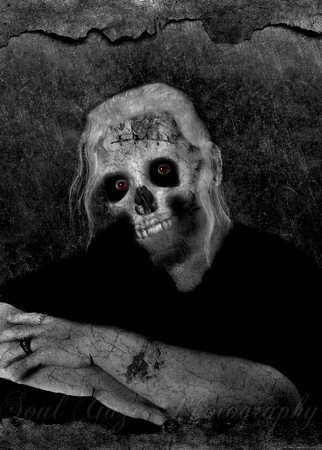 Portrait of a Zombie -  (Soul Gaze Photography/Amber Flowers)