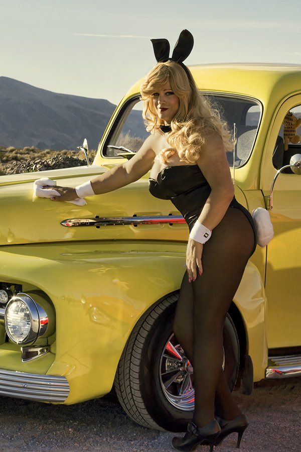 """Abigail Rich, Glamour Model & Playboy Bunny Photo shoot for an International magazine feature titled """"Hot girls & Hot Cars"""" being released Jan 2015"""