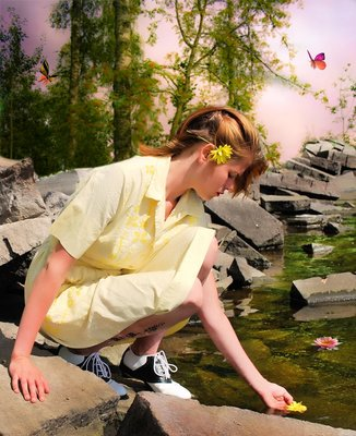 Daydreams Michelle by the river