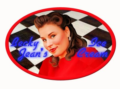Becky Jean's Ice Crean image done for Becky Jean's Ice Cream logo