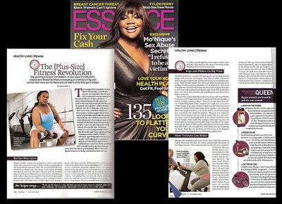 Asia Mone't in Essence Magazine