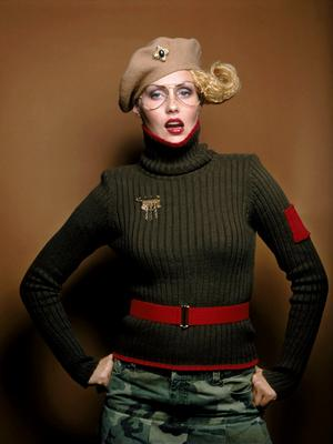 Styling by Bette Tilch, Hair by Richie Roman, Makeup by Cara Maccianti