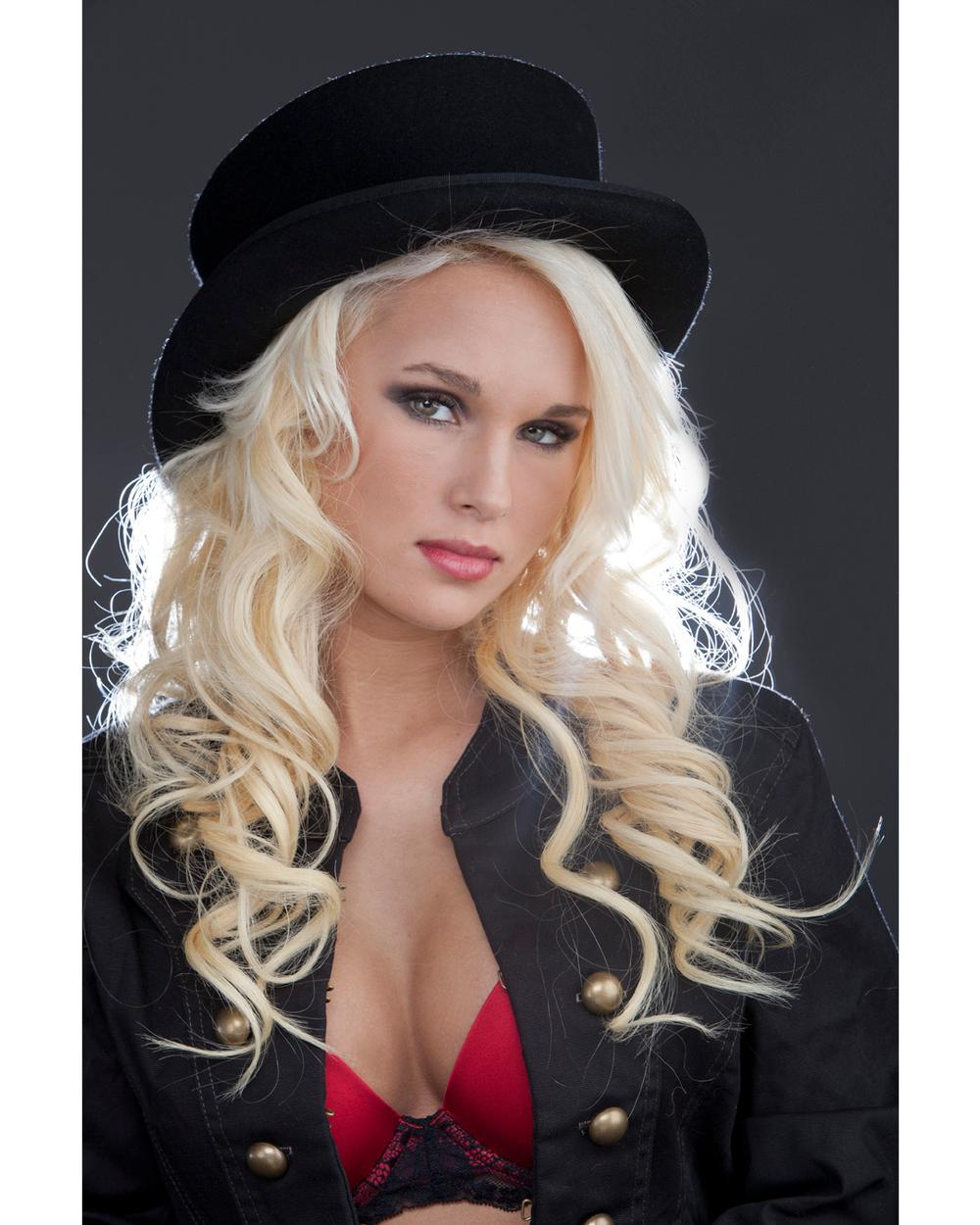 Anna in Top Hat Anna Eliz Truett, Top Hat Series  #annatruett  #tophat  #blonde