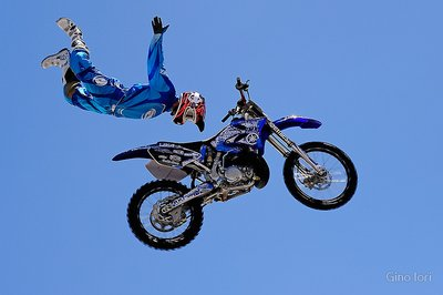 Rock Solid Rhys Hiller is a member of the ShowTime FMX Yamaha Freestyle Team