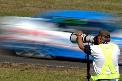Flash Photography Went out to the race track for the first time in many years a few months ago. I took the usual race shots, but thought I would try something different. The photographer was working on the side of the track
