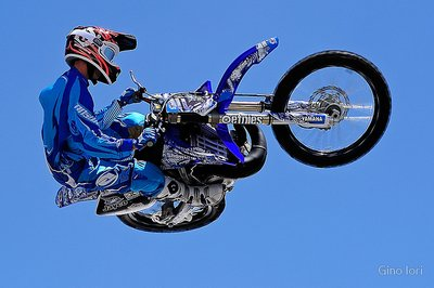 Rhys Hiller in action Rhys Hiller is a member of the ShowTime FMX Yamaha Freestyle Team