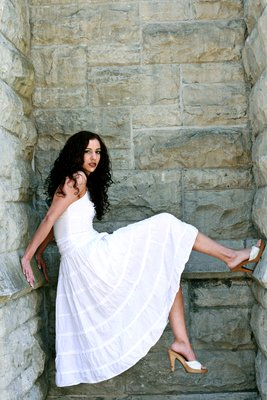 Runaway Bride Model Renee - Downtown Syracuse