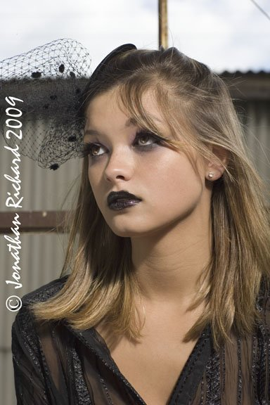 Industrial Smudge Styling and makeup by Jonathan
